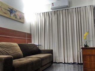 Flat espetacular no Tupin Inn Hotel a 50 metros da Beira-mar de Fortaleza