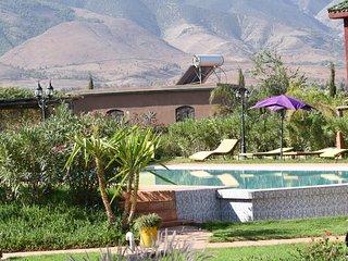 hotel les jardins de Bouskiod