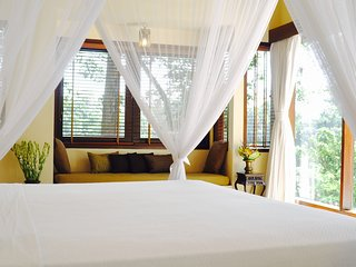 Spotless and spacious bedrooms, each with a beautiful view