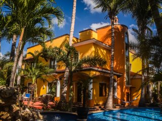 Private Luxury Villa Estate -Close to Playa and all attractions,pvt.pool,chef,
