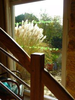 La Ponne, vue vers le jardin