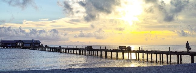 ENJOY A SUNRISE-FISH-LUNCH AT THE CITY PIER BY GOING NORTH ON TROLLEY/BIKE/CAR.
