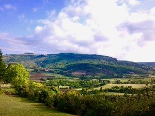 Ardèche Maison tout confort avec vue imprenable sur le plateau du Coiron, Villeneuve-de-Berg