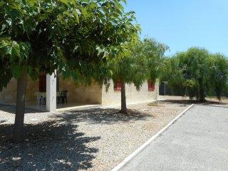 appartamento con giardino proprio, in villa nella riserva di Punta Prosciutto