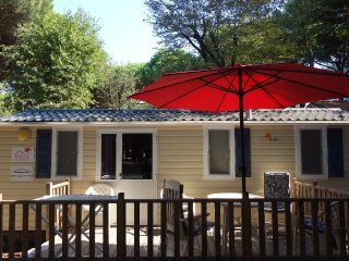 Chalet Italie, Comacchio lido di spina direct aan zee 4* camping Venetië
