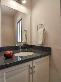 1/2 bath off living area