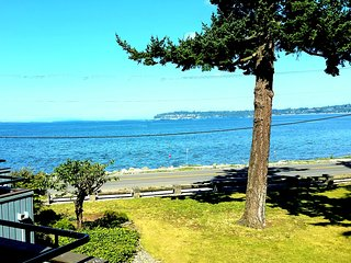 Seaside Story Spectacular Views at Jacobs Landing unit 108 in Birch Bay