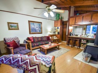 Lumberjack Lodge sleeps 6