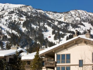 Sunny, spacious relaxation at the foot of ski hill, Teton Village