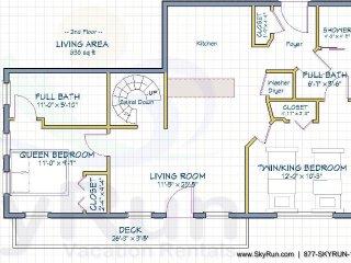 Ballard House 207A 2BR, Telluride