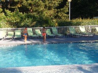 appartement 3* piscine, tennis, parc arbore, residence standing-Hotel du Parc