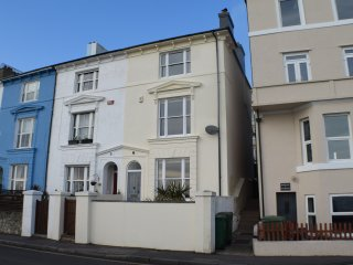 Large family house with superb sea views, Sandgate