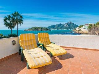 CORB MARI - sea view apartment in Sant Elm for 4 people