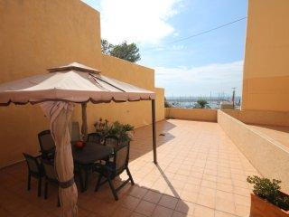 4**** 3 bedroom appartement in luxury residence, 100m2 terrace, seaviews, pool, Calpe