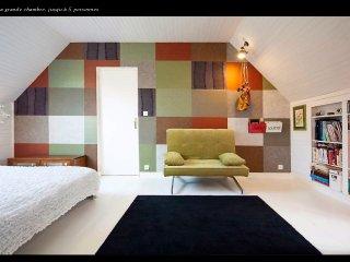 10 km de Brest 60m2 chambre avec vue, La Forest-Landerneau