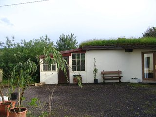 The Nest grass roofed eco-cottage, Dingle