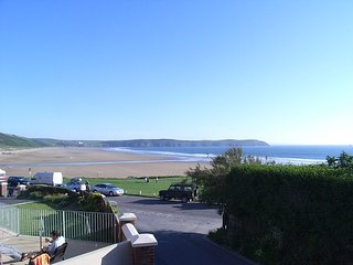 2 Belmont Court just off Woolacombe's Esplanade with sea views