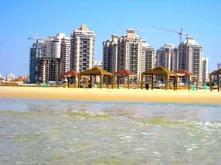 14th FL. NEW LUXURY BEACHFRONT POLEG NETANYA, VIEW