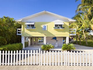Villa Marlin, Renovated, Remodeled,  Sandy Beach, Long Key