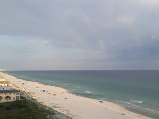 Beautiful view of the gulf from 2 BR condo at Pinnacle Port, Panama city beach