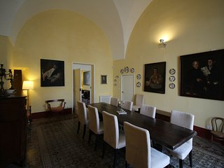 Luxury Apartment in Prestigious Historical Palace with Pool and Private Terrace