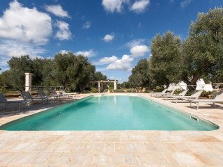 550 Trulli with Pool in Ostuni