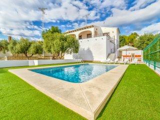 Villa Guixa - Just 500 m to sandbeach and facilities., Benissa