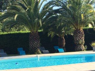 Charmante villa avec piscine  pour famille