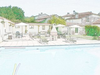 Friendly Clothing Optional - B&B / Chambres d'Hotes - Heated Pool - BonAbri