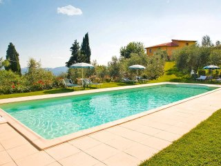Apartments in Farmhouse with swimming pool, garden, stunning view, Loro Ciuffenna