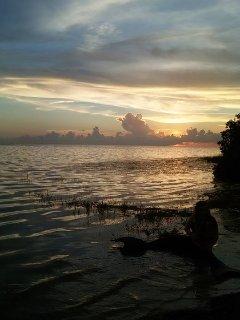 Sunsets at Green Key Beach.