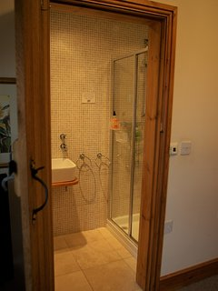 En-suite power shower