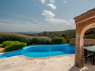 Villa Pevero Hills 5 with pool and sea view for 9 persons