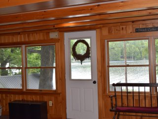 Spacious Home on Twitchell Pond - Private Dock 15 min to Bethel 5 min to Abram