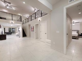 Spacious open hallway
