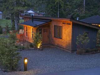 #1 Port O Pierre with bunkhouse, Port Renfrew