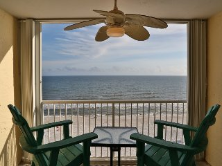 HOT Deal Castaways 9C ~ Direct Gulf Front, Panoramic Views, right on the beach ~