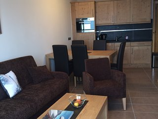 Luxury 2 bedroom apartment in Valmorel, ski in Ski out