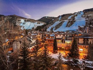 6th floor 2-bedroom condo overlooking Gore Creek and Vail Village
