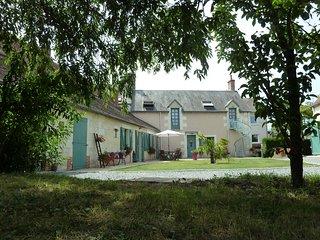 Gîte de la Closeraie, zoo-parc de Beauval & châteaux de la Loire.