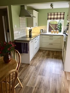 The new kitchen