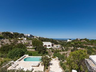 658 Trullo with Pool and Sea View in Ostuni