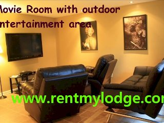 Chattanooga Movie Room, Wifi and Outdoor Intimacy, Chickamauga
