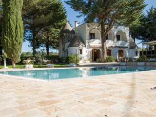 751 Trullo with Pool and Pine Grove in Locorotondo