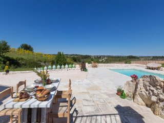 663 Trullo with Panoramic Pool in Martina Franca
