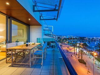 Ultra Modern Front Line Penthouse in Port Alcudia