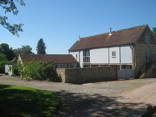 Grade II listed award winning 4 bedroom barn conversion with walled garden, Taunton