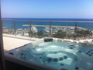 3b Seaview Duplex Penthouse3 Hot tub - Finikoudes beach