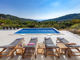 Modern villa in a traditional setting, Selce, Brac island