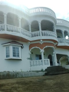 Front of mansion